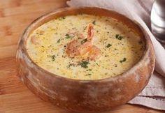 Сырный суп с креветками » Аппетитно: кулинарные рецепты