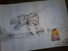 T-Rex (Practice) by FarhanAbdillah.deviantart.com on @DeviantArt