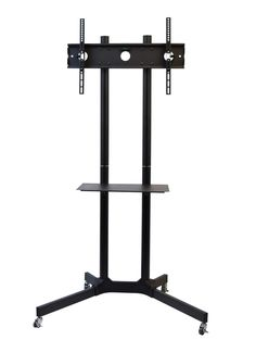 """USED VIVO TV Cart for LCD LED Plasma Flat Panel Stand w/Wheels fits 32"""" to 65"""" #VIVO"""