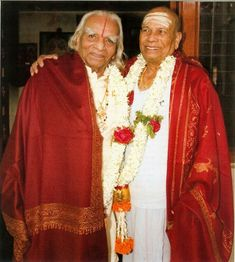 BKS Iyengar and Pattabhi Jois