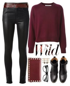 """Citizens Of Humanity Shiny Skinny Jeans"" by crblackflag ❤ liked on Polyvore featuring Citizens of Humanity, Valentino, Accessorize, Theory, skinnyjeans, Shiny and citizensofhumanity"