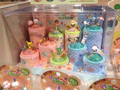 Pokemon Photos from Tokyo - PitaPoke figure Oshawott Whimsicott Lilligant Litwick Tympole