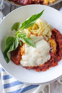 Stuffed Chicken Parmigiana | Go Go Go Gourmet @gogogogourmet