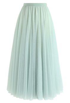Mint Skirt, Pleated Skirt, Unique Fashion, Chiffon Maxi, Lace Crop Tops, Muslim Fashion, Vintage Skirt, Fashion Dresses, Clothes