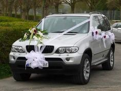 Tulle vive les mariés blanc 10m, Décoration voiture - Entrepot de ...