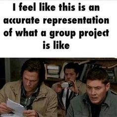 Group project                                                     SPN Tumblr