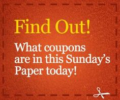 excellent couponing website! I usually buy 2 Sunday papers on most Sundays for the coupon flyers.