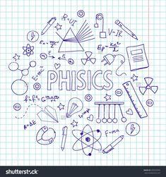 deckblatt physik zentangles doodles physi. Black Bedroom Furniture Sets. Home Design Ideas