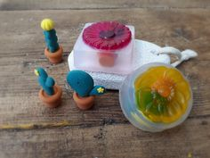 How cool are these Kids soaps... these cactus are so cute by SidandLou