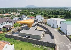 moon hoon wind house duck hairdryer volcanic jeju island south korea designboom