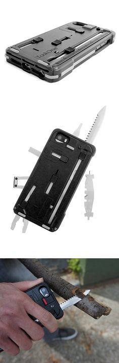 iPhone Cover with 22 tools - perfect for camping