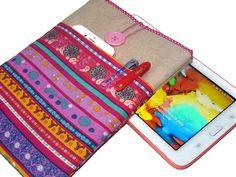 kindle Hülle, eReader tasche - pink von Driworks auf DaWanda.com
