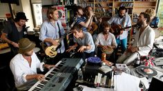Edward Sharpe And The Magnetic Zeroes Npr Tiny Desk Concert Love This Group Mar