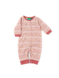 Little Green Radicals Baby Barn Owl Playsuit romper all in Organic  0 3 6 9 12