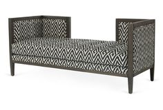 Fenton Bench, Black/White - DIYable?
