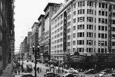 Warner Bros. Downtown Theatre, 401 W. 7th Street, 1938.