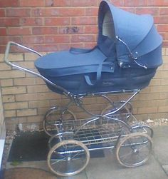 Vintage Restmor Pram in Baby, Pushchairs, Prams & Accs. Vintage Pram, Retro Vintage, Prams And Pushchairs, Baby Gadgets, Baby Prams, Baby Carriage, Baby Gear, Kids And Parenting, Old And New