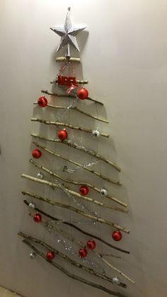 Create Idea Lot de 8 d/écorations /à Suspendre en Toile de Jute pour Sapin de No/ël Rouge