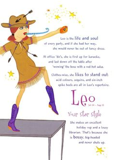 Postcard Horoscope Zodiac Star Sign LEO, for Ladies, Women, Girls, Novelty Gift Zodiac Signs Meaning, Zodiac Star Signs, Zodiac Sign Facts, All About Leo, Hot Salsa, July Baby, Leo Lion, Zodiac Horoscope, Novelty Gifts