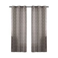 Honeycomb Drape Curtain Panel (Set of 2)