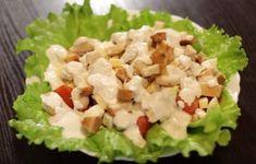 Inšpirujte sa a vytvorte prekrásne predjedlá ktoré zaujmu - Báječné recepty Guacamole, Cobb Salad, Grains, Rice, Cooking Recipes, Ethnic Recipes, Basket, Food Cakes, Chef Recipes