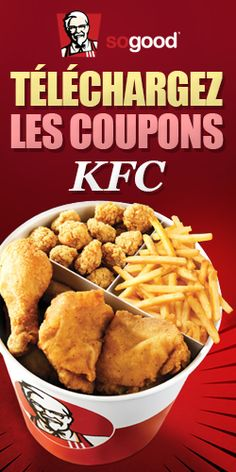 10 super coupons PFK. Fin le 6 octobre.  http://rienquedugratuit.ca/coupons/10-super-coupons-pfk/