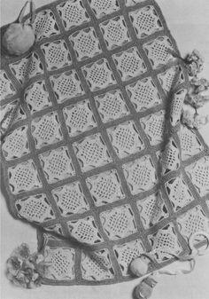 PDF Baby Pram Blanket Cover Crochet Pattern : 2 Designs . Teddy Bear Motif . Boy or Girl . Instant Digital Download by PDFKnittingCrochet on Etsy