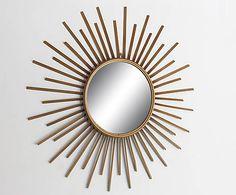 """""""Shiny"""" tükör, aranyszínű 11090 Ft"""