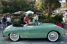 1956 Porsche 356A 1600 Cabriolet - Lt Green