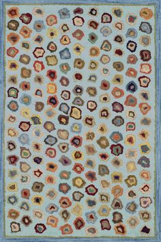 """Dash and Albert Rugs- """"Cat's Paw Blue"""" - Wool Micro-Hooked Rug - Available @ Maryland Paint & Decorating Solid Rugs, Dash And Albert, Rug Company, Blue Cats, Rug Sale, Custom Rugs, Blue Wool, Rug Hooking, Beige Area Rugs"""