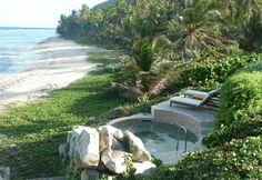 Dream hot tub.  | The Spa at Peter Island Resort | British Virgin Islands