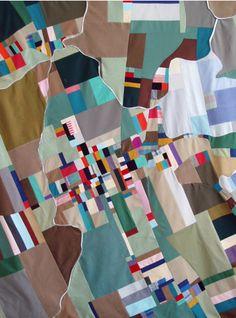ian hundley cartographic quilts