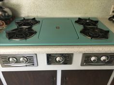 Great SFV Wedgewood-Holly stove top