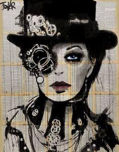 "Saatchi Art Artist Loui Jover; Drawing, ""clockwork"" #art"