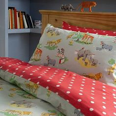 Cath Kidston's Zoo pattern duvet cover.  Again, if I lived in London.....