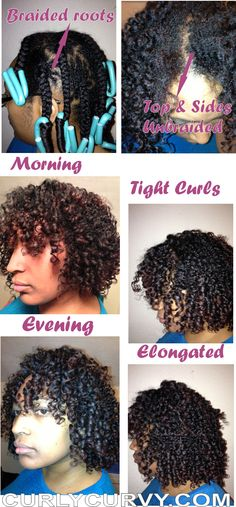 Braided roots noodle head afro  Follow BHI on Facebook & Twitter too!   http://www.facebook.com/blackhairinformation  https://twitter.com/#!/BlackHairInfo