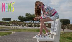We present the New Collection NENS SS18 (You'll love it ...) Silver leather sandals with platforms for trendy girls. There is no doubt that these NENS sandals are a MUST this summer #nens #calzadoinfantil #summersandals #kidsfashion