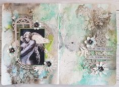 Journal Pages, Mixed Media, Tote Bag, Artwork, Bags, Handbags, Work Of Art, Auguste Rodin Artwork, Totes