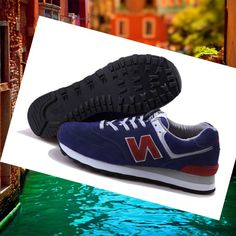 New Balance 574 Olympic Edition Wine Shoes / Brown Original cost HOT SALE! HOT PRICE!