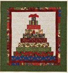 Resultado de imagen para christmas tree quilt