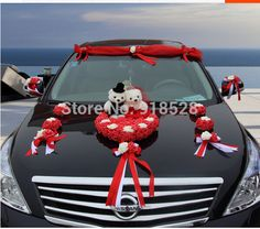 Red white wedding cakes decoration cars and wedding cars cheap flower decoration marriage buy quality flower decoration home directly from china flower wedding decorations junglespirit Gallery