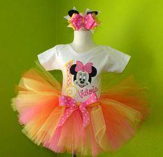 Minnie Mouse Sweet Birthday Tutu Set