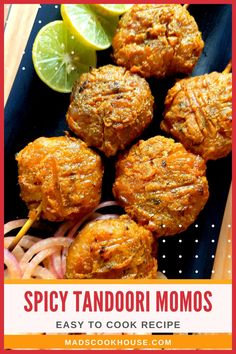 How to make Spicy Tandoori Momos. Spicy dim sum or dumplings marinated in a delicious tandoori masala and grilled to perfection. Try out this lip-smacking and popular Indian fusion recipe that is a family favorite. #TandooriMomos #TandooriVegMomos #Appetizer #StreetFood #Momos Vegetarian Dim Sum, Vegetarian Cabbage, Vegetarian Recipes, Tandoori Masala, Chaat Masala, Garam Masala, Steamed Momos, Green Chilli Sauce, Momos Recipe