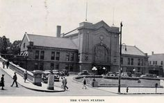 1929 Union Station - Lexington, KY
