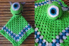 Crochet Mike Wazowski Inspired by CraftyLittleKnitwit on Etsy