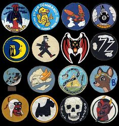 Super amazing collection of WWII squadron logos and insignias. I wish this was a book. Check it out here.