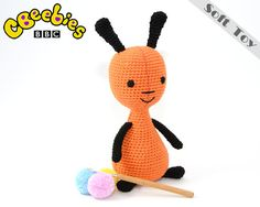Cbeebies Flop Soft Toy Bing's Carer From Bing by TatieSoftToys