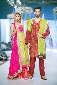Fashion: Yasmin Zaman Mughal Art Collection at Pantene Bridal Couture Week 2014