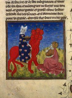 Grandes Heures d'Anne de Bretagne, Guiard des Moulains, Bible Historiale, début XVè siècle (BNF)