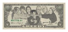 """""""greedy"""" poster 2 Psych Cast, Maggie Lawson, Ivana Milicevic, James Roday, Raiders, Cool Pictures, Vintage World Maps, It Cast, Poster"""